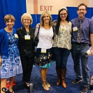 AASL 2017 with Dianne White, BG Henessy, Phoebe Fox, moi and Hate Evans