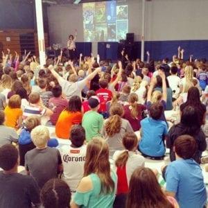 Julie Berry Eduprize School Visit - 2017