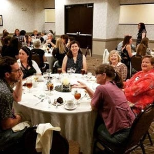 SCBWI AZ Regional Conference 2017 - Faculty Dinner
